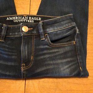 AEO 360 Degree Super Stretch Jegging Crop Jeans